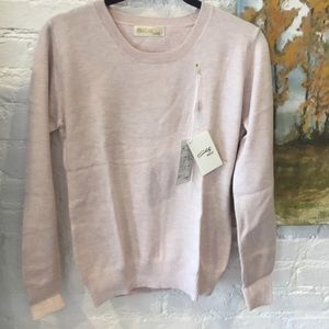 Blush Merino Cotton Sweater